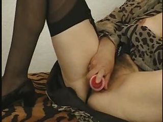 Lovely Mature Masturbating