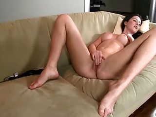 Cock Deprived Nubile Pleases Herself.