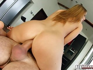 Allinternal Sabrina Moor Gets Her First Creampie