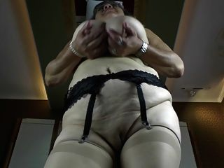 Old Granny With Big Saggy Tits And Hungry Cunt