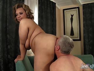 Cock Hungry Bbw Sarah Wilson Hardcore Sex