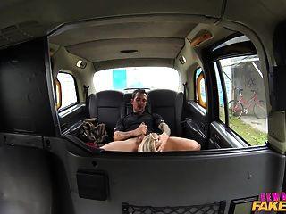 Femalefaketaxi dirty driver gargles coppers cum 8