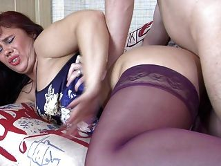 Russian Mom Fuck In The Ass
