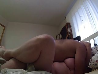 Homemade, Chubby Couple Fucking And Creampie