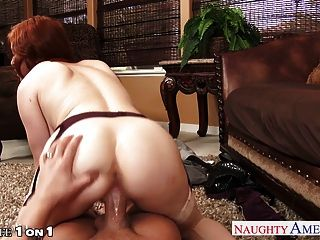 Chesty Redhead Housewife Penny Pax Take Cock In Pov