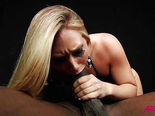 Blonde Fucked By Super Monster Black Cock