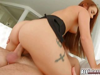 All Internal Firsttime Creampie For This Cute Newcomer