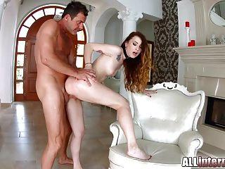 Cumforcover misha cross blowbang with 4 cum spurting cocks - 2 part 8