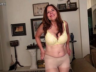 Naughty American Mom Playing With Herself