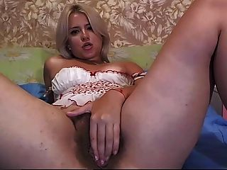 Beautty Latina Show Her Hairy Pussy...