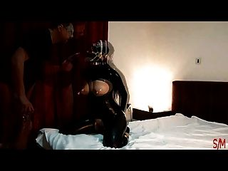 image Intro black latex ring gag dildo amp cock deepthroat amp fuck