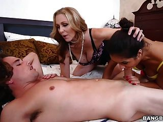 Julia Ann And Abby Lee Brazil - Stepmom Videos