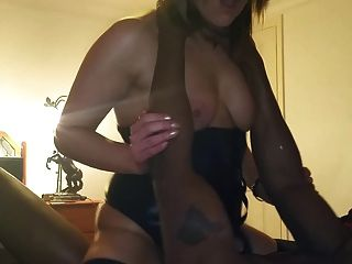 Interracial Rough Fuck With Hot Milf