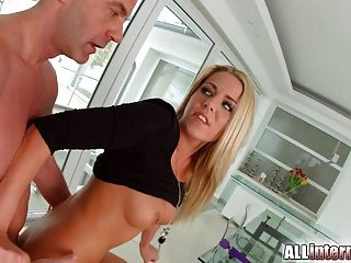 Allinternal Christen Courtney Gets A Messy Deep Anal