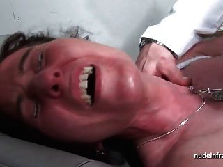 Mmf Sexy Mature Hard Anal Plugged And Dilated