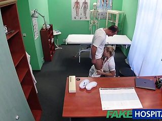 Fakehospital sexual deal is struck with new patient 9