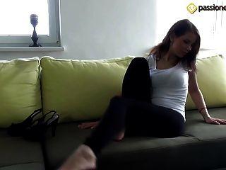 Angela Teen Feet