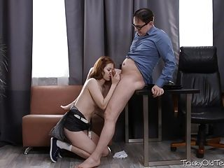Tricky Old Teacher - Tess Was Horny So She Went
