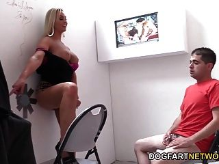 Abbey Brooks Lets Her Cuckold Watch Her Fuck