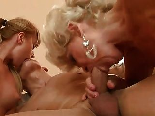Mature And Young Couple