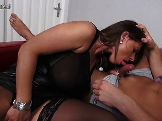 Alena gave halle some pointers as she sucked and fucked hard 1