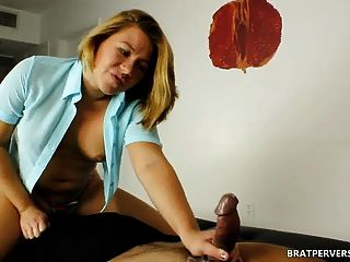 Bratperversions.com Orgasm Ruined In Face Sitting Session