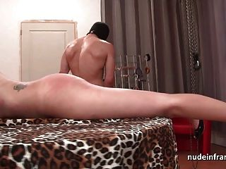 Small Titted Brunette Hard Corrected And Cum Coverd In Bdsm