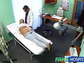 Fakehospital Blonde With Big Tits Wants To Be A Nurse