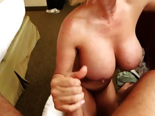 Titty Fucking With A Big Boobs Mature