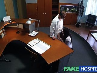 Fakehospital horny student gets a good fucking from doctor 4
