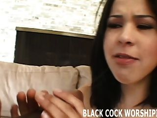 Watch Me Take Two Big Black Cocks At The Same Time
