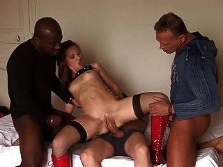 3some jessica fiorentino dp 06 9