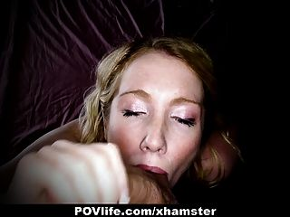 Povlife - Horny Blonde Gets Fucked In The Ass On Camera!