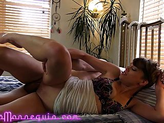 Slow Motion-hot Skinny Milf Has Intense Orgasm While Fucking