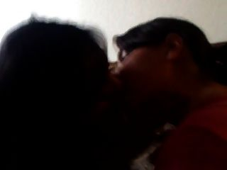 Girlfriend Making Out With Her Friend