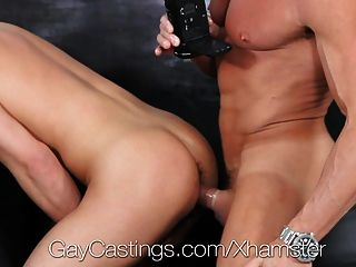 Hunter Page Fucked At First Gay Porn Audition