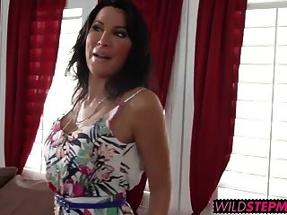 Horny Dee Dee And Lezley Rides His Big Cock On The Bed