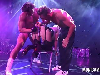 image Norsk monicamilf on stage at sexhibition in norway