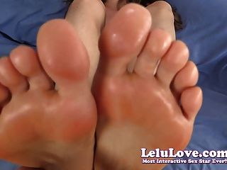 Lelu Love-topless Pov Footjob Cum On Soles