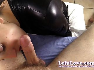Teasing And Sucking Your Cock In My Catsuit