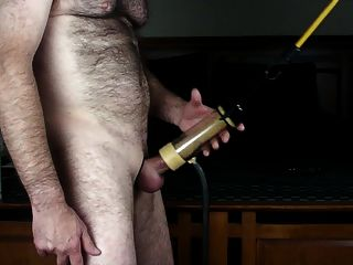 Cock Milking Machine