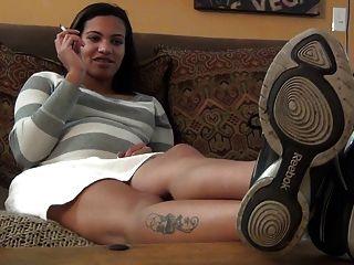 Big Feet Tease