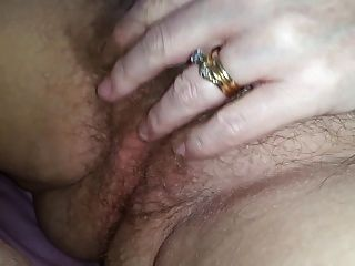 Wife rubbing her pussy video