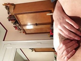 Granny Rubbing Her Wet Pussy