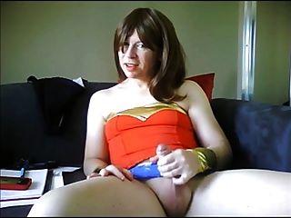 Hard Cock Wonder Woman