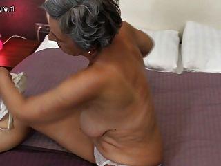 Amateur Grandma Needs A Good Fuck