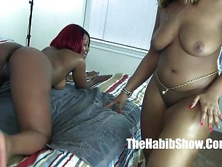 Thick Red And Golden Lesbo Lovers