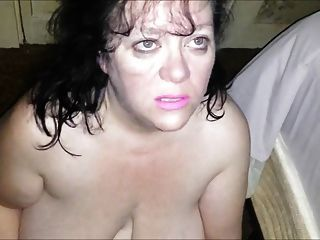 Real Cum Slut Bbw Wife Taking Multiple Facials