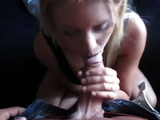 Swedish Girl - Blowjob In The Couch