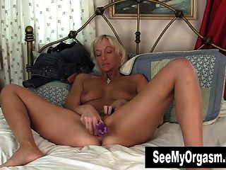 Short Haired Barbie Masturbating